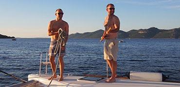 The Griffiths Family - Yachtcharter Kroatien