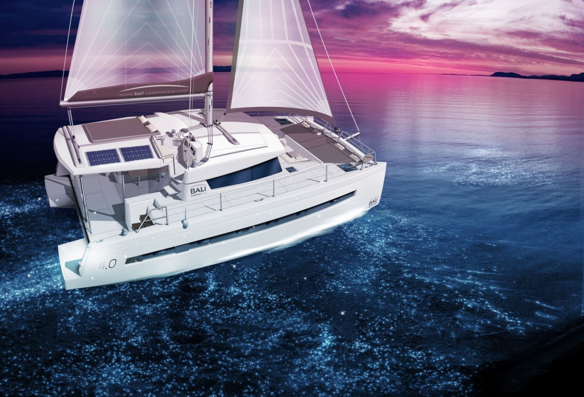 Bali 4.0, PRIVATE BAY | Catamaran Charter Croatia