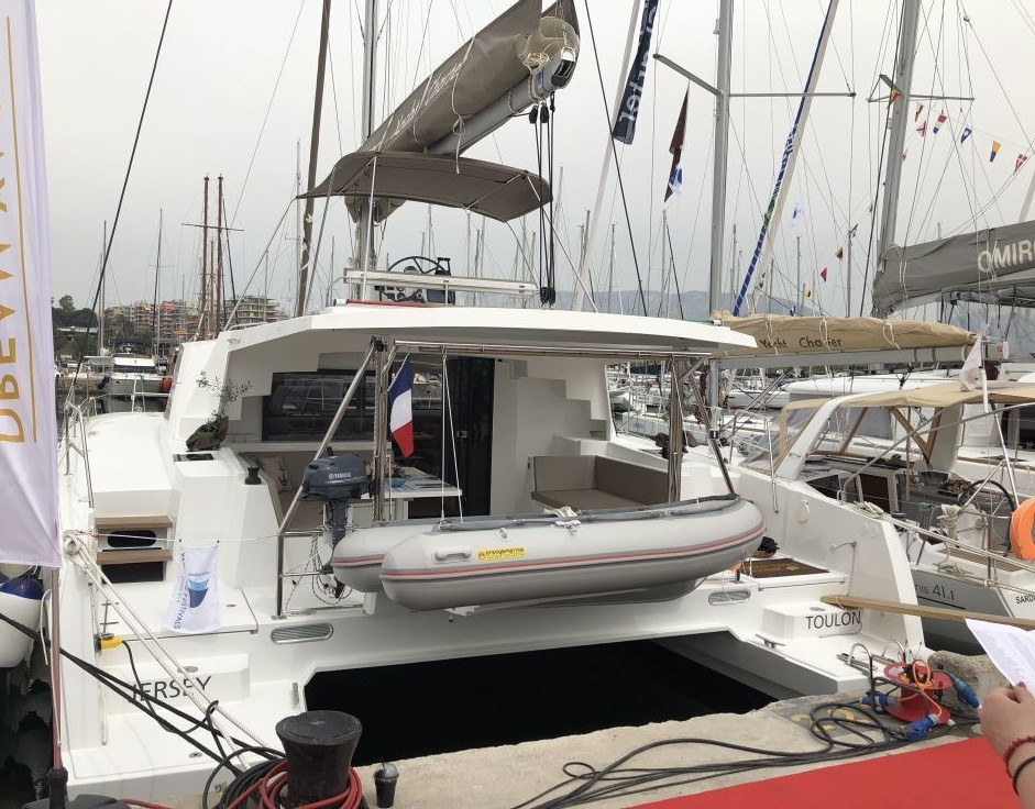 Bali 4.5, JERSEY    Catamaran Charter Croatia