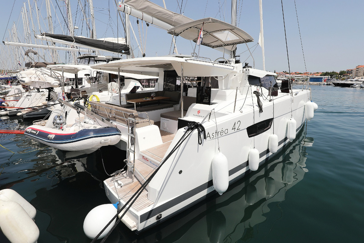 Fountaine Pajot Astrea 42 Bella V | Catamaran Charter Croatia