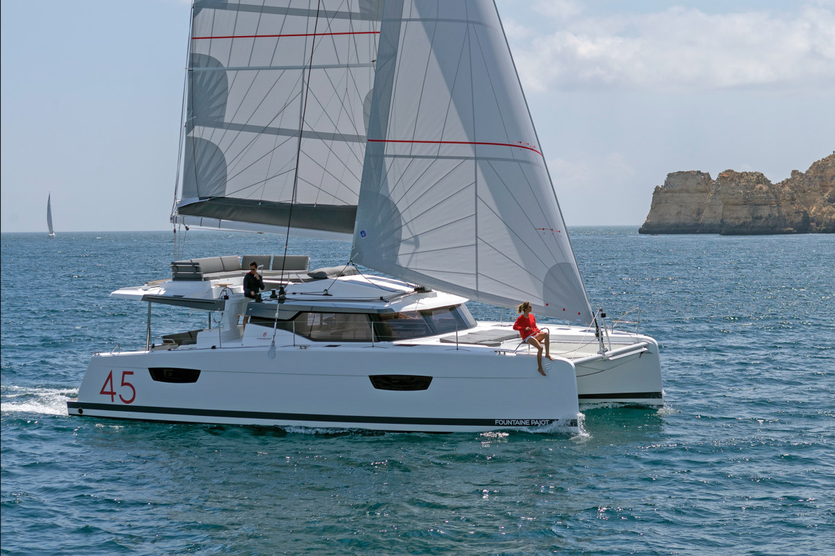 Fountaine Pajot Elba 45 Coco | Catamaran Charter Croatia
