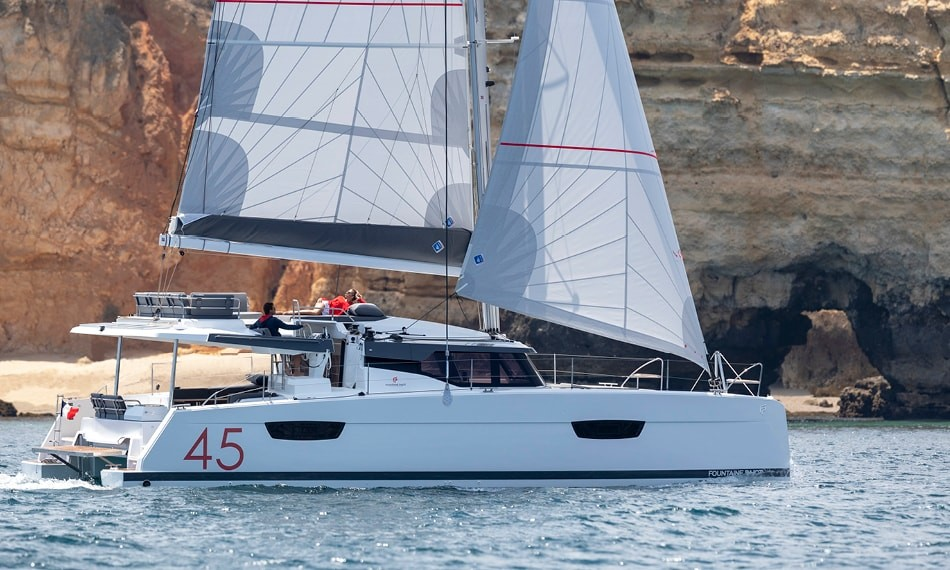 Fountaine Pajot Elba 45 SUN OFFICE | Catamaran Charter Croatia