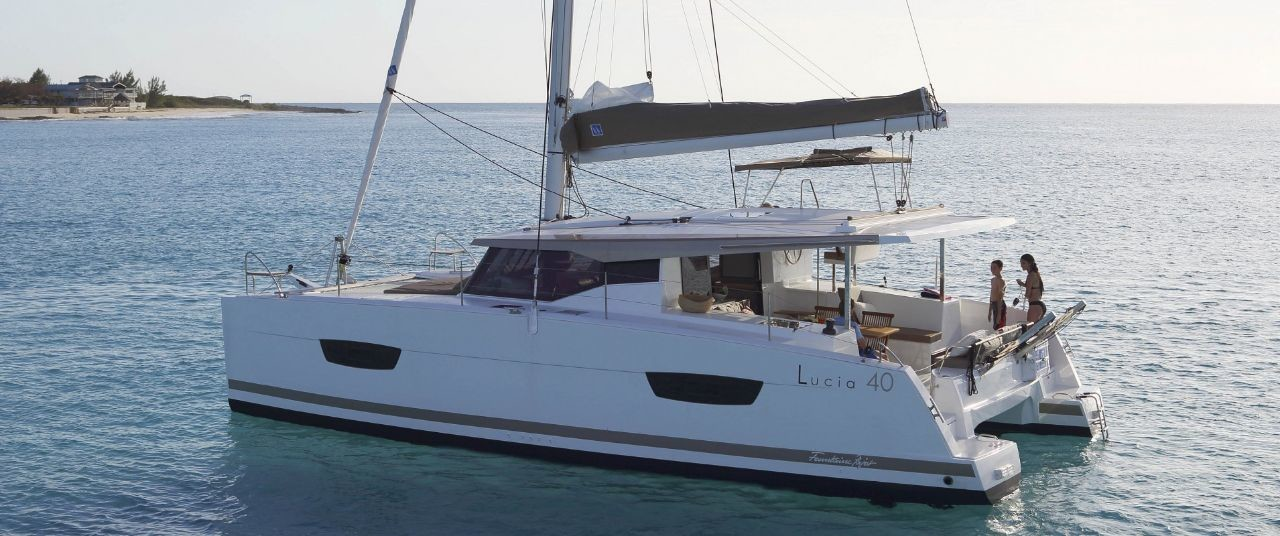 Fountaine Pajot Lucia 40, Space | Catamaran Charter Croatia