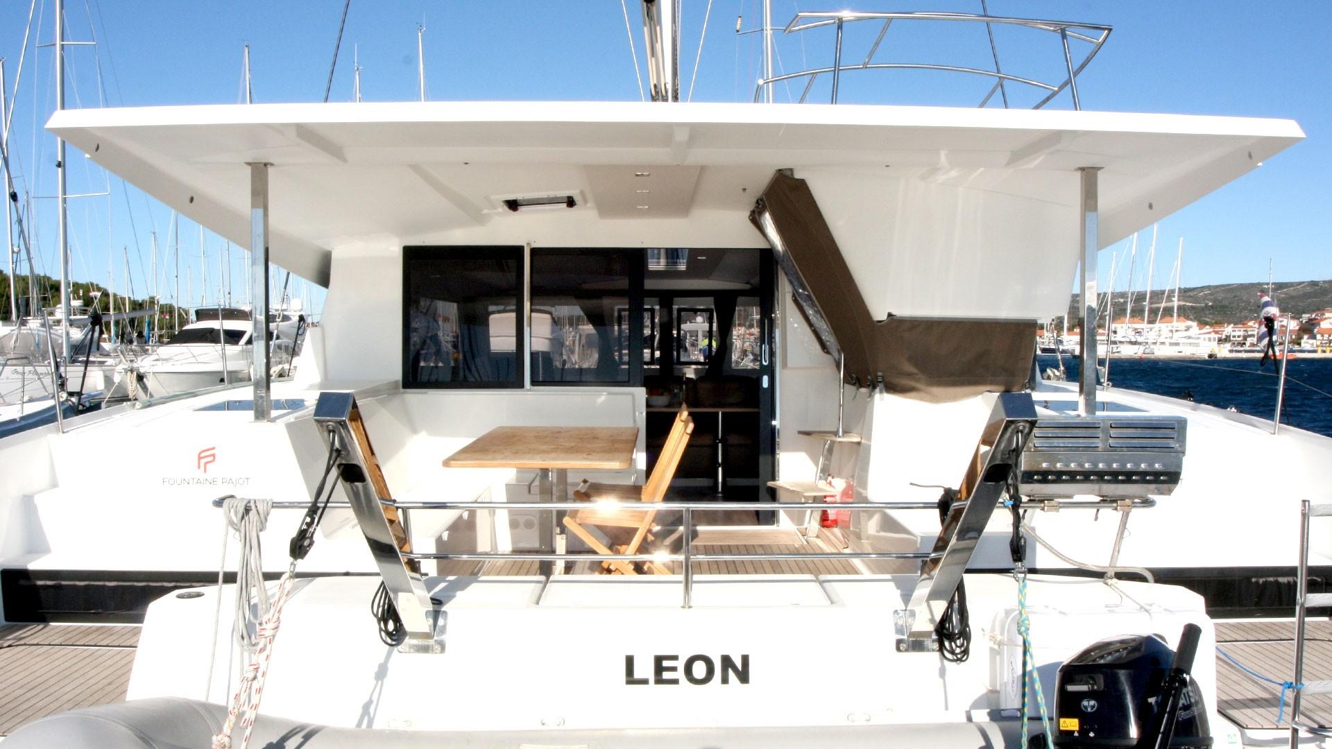 Fountaine Pajot Lucia 40, Leon | Catamaran Charter Croatia