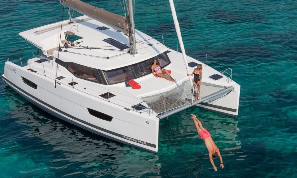 Fountaine Pajot Lucia 40, Bella IV  | Catamaran Charter Croatia