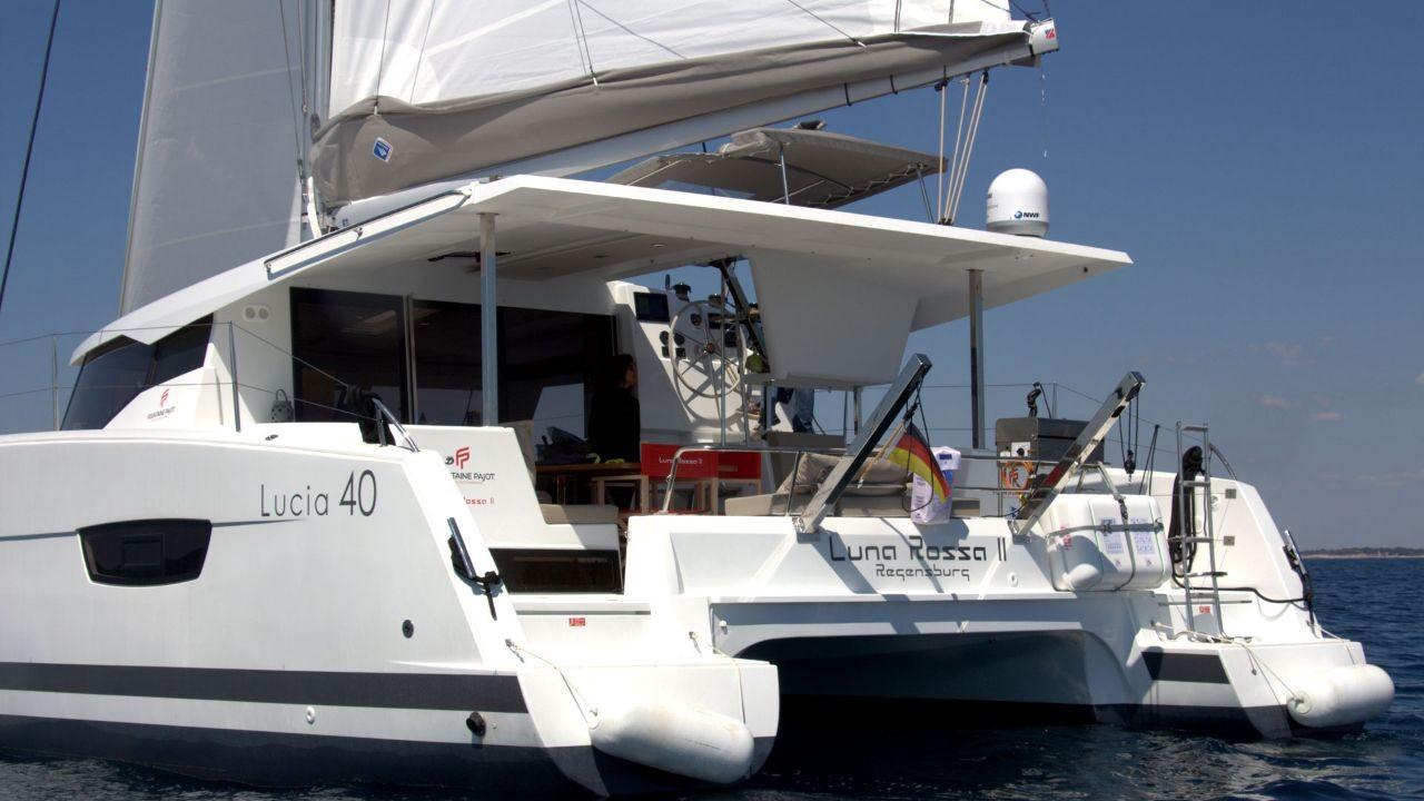 Fountaine Pajot Lucia 40 Luna Rossa II | Catamaran Charter Croatia