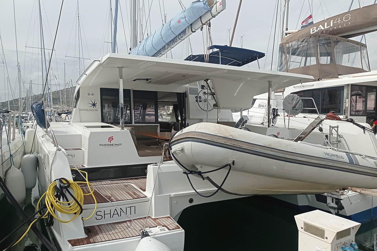 Fountaine Pajot Lucia 40 Shanti | Catamaran Charter Croatia
