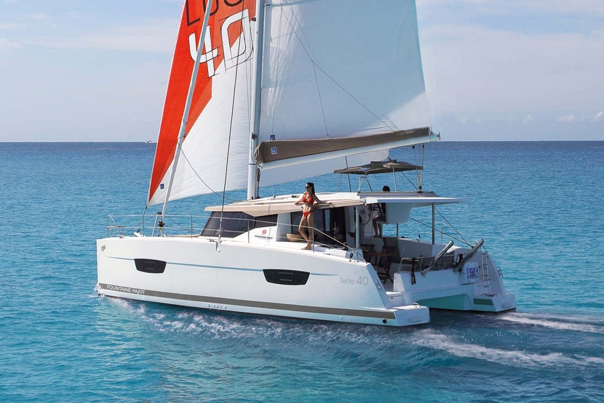 Fountaine Pajot Lucia 40 Admira | Catamaran Charter Croatia