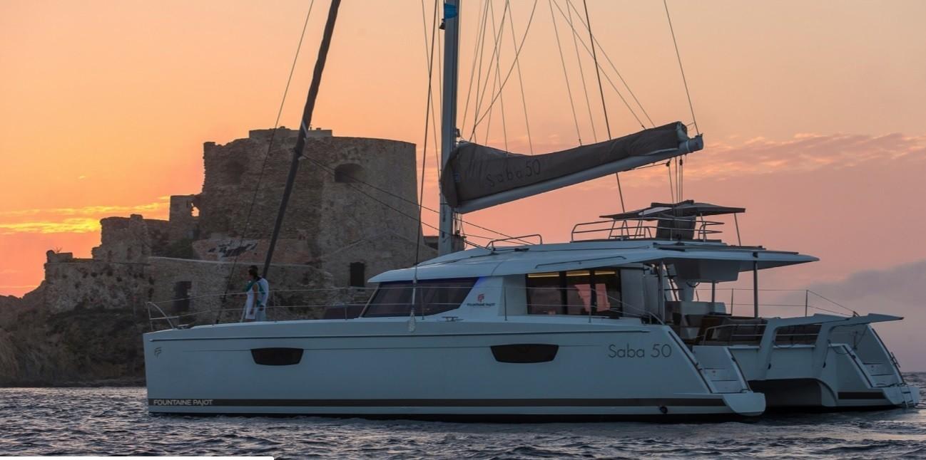 Fountaine Pajot Saba 50, Sunset | Catamaran Charter Croatia