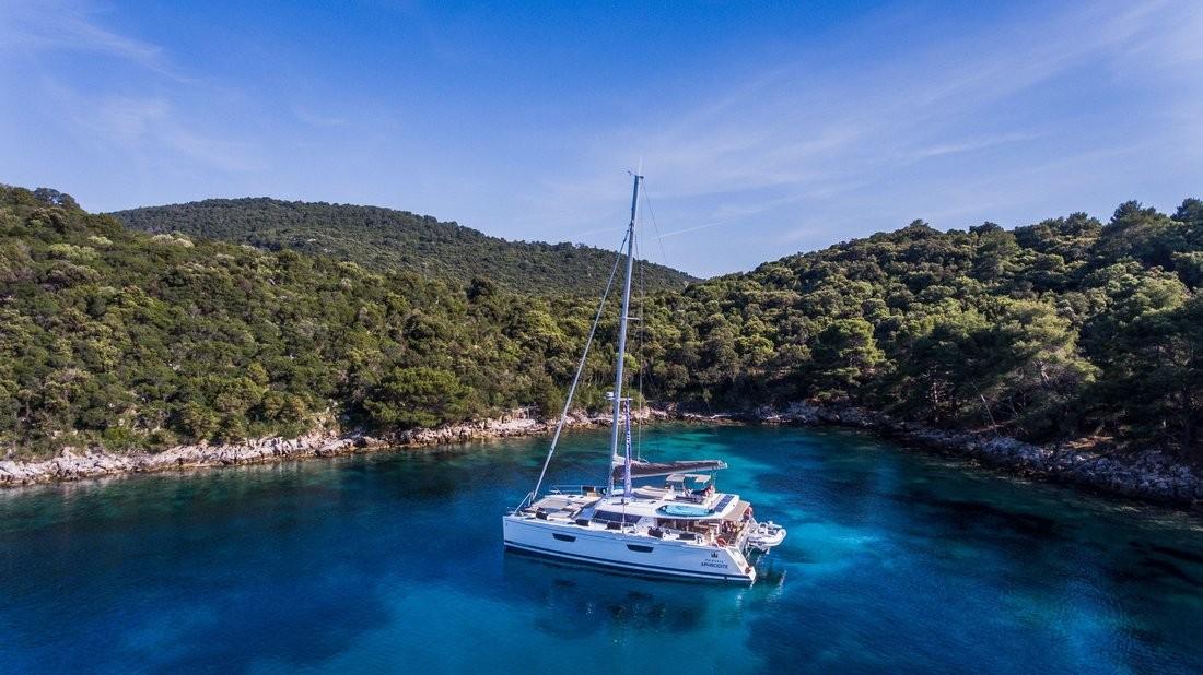 Fountaine Pajot Saba 50, Princess Aphrodite (crewed) | Catamaran Charter Croatia