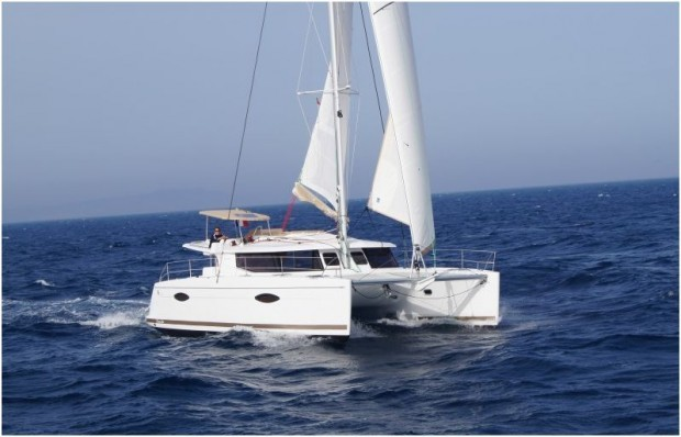 Helia 44, Helia with AC and generator | Catamaran Charter Croatia