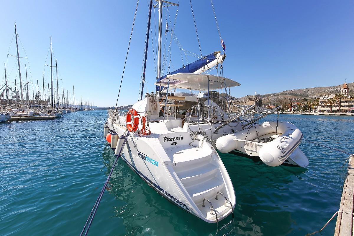 Lagoon 380 S2, Phoenix | Catamaran Charter Croatia