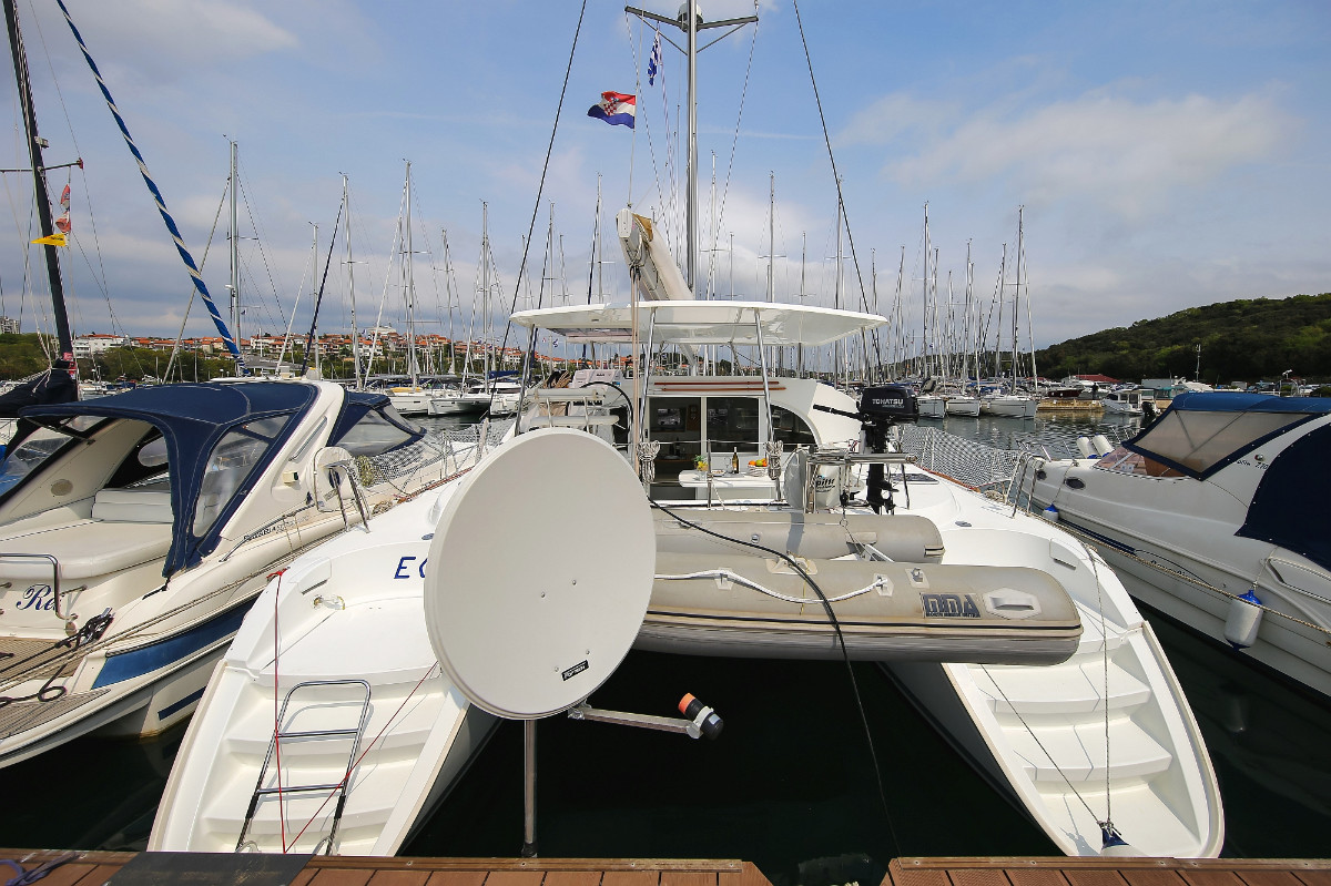 Lagoon 380 Eos | Katamaran Charter Kroatien