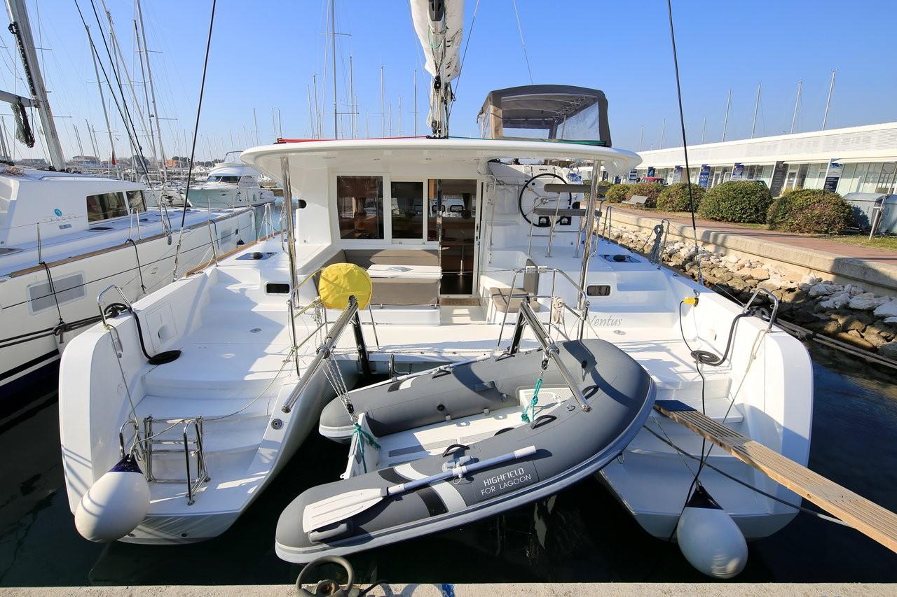 Lagoon 39, VENTUS | Catamaran Charter Croatia