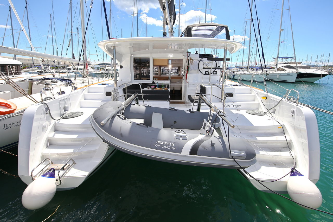 Lagoon 39, GIN TONIC | Catamaran Charter Croatia