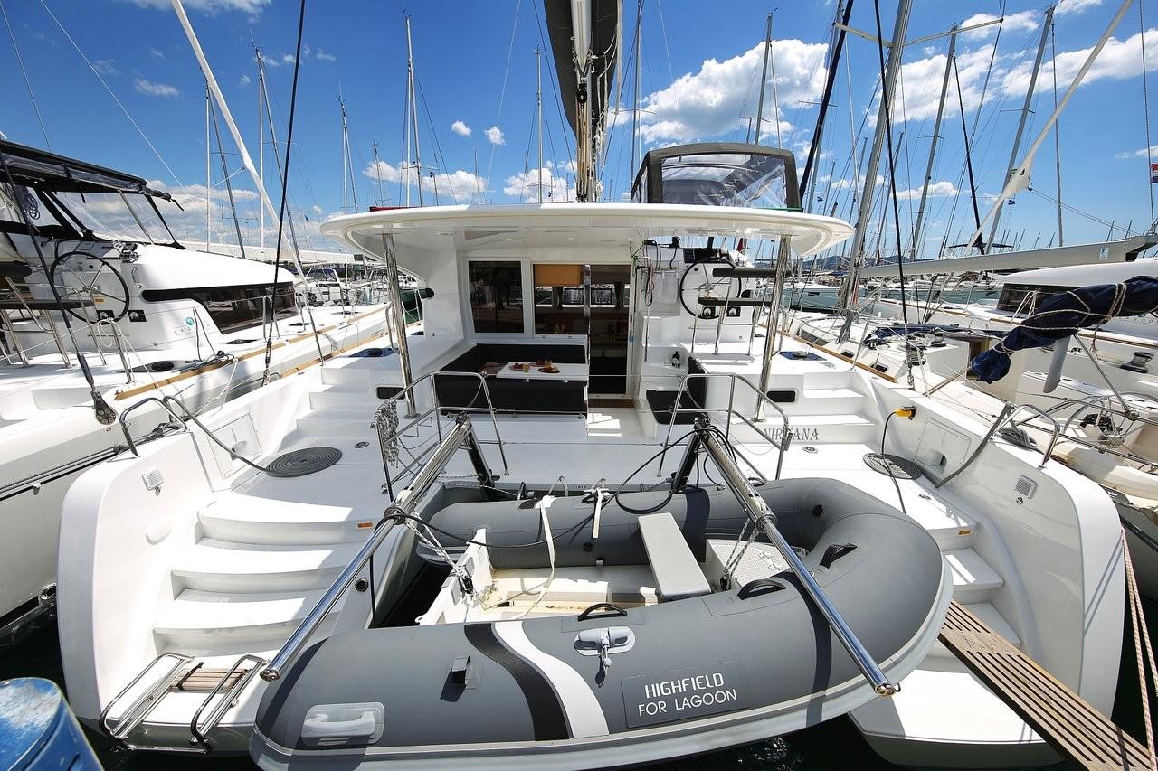Lagoon 39, NIRVANA | Catamaran Charter Croatia
