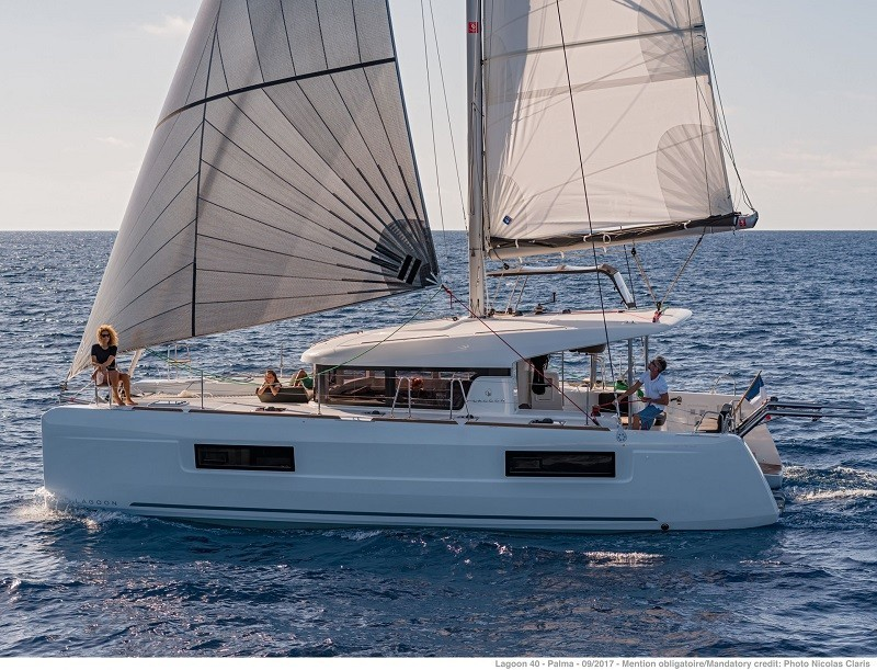 Lagoon 40 STENELLA   Catamaran Charter Croatia