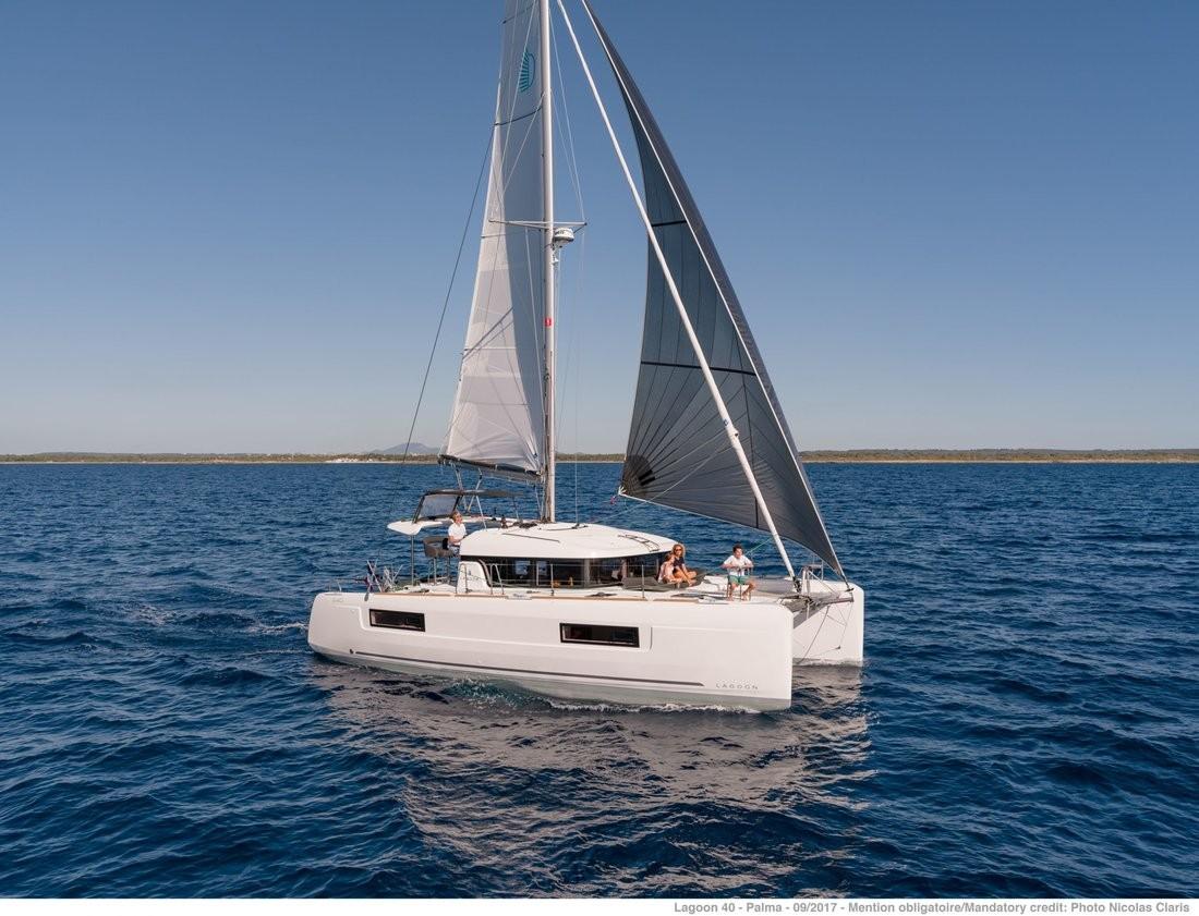 Lagoon 40 WILD CAT   Catamaran Charter Croatia