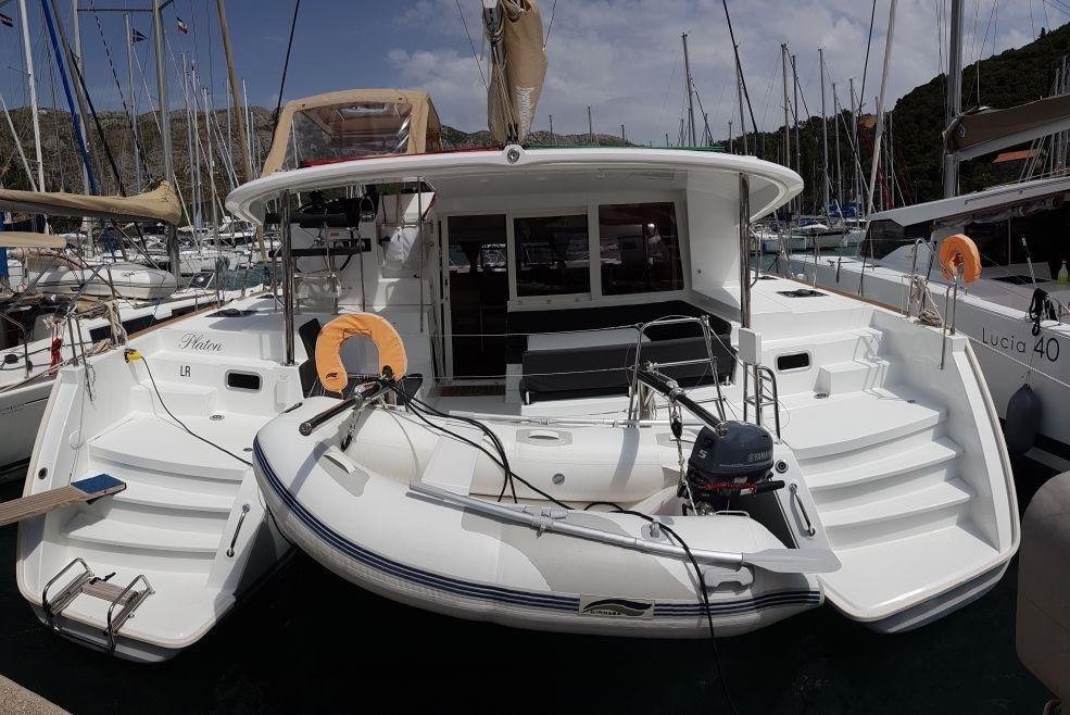 Lagoon 400 S2, PLATON  | Catamaran Charter Croatia