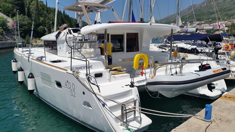 Lagoon 400 S2, Summertime | Catamaran Charter Croatia