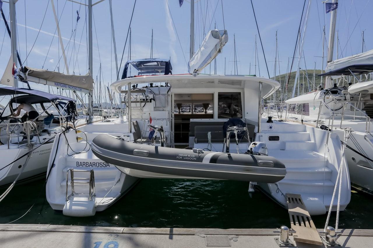 Lagoon 400 S2, Barbarossa | Catamaran Charter Croatia