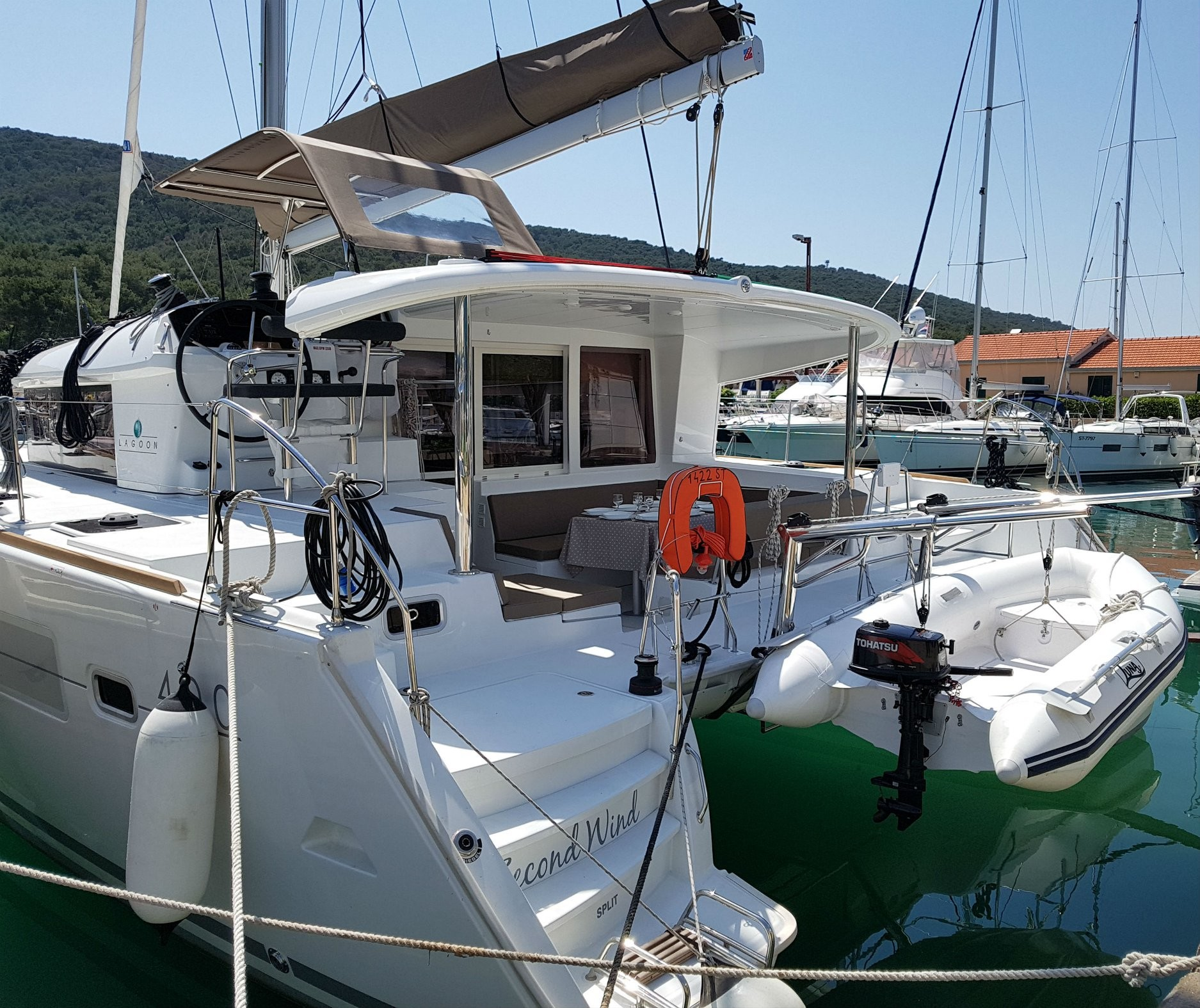 Lagoon 400 S2, Second Wind | Catamaran Charter Croatia