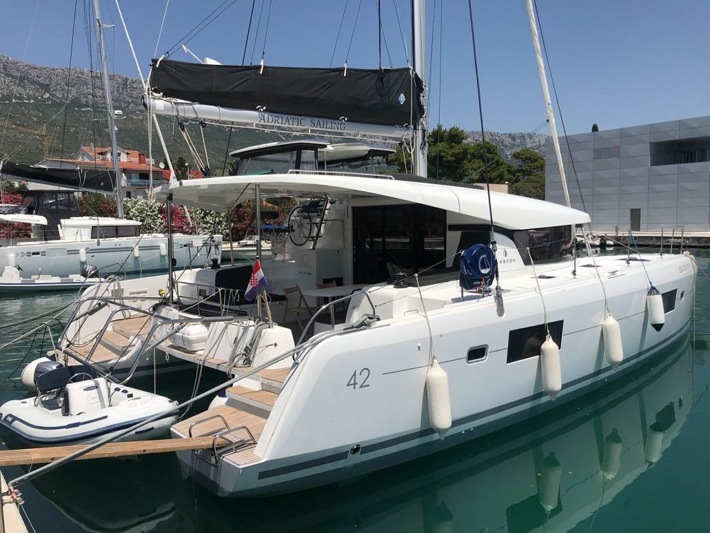 Lagoon 42 OW, FIND US | Catamaran Charter Croatia
