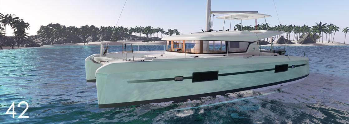 Lagoon 42, SIRENA | Catamaran Charter Croatia