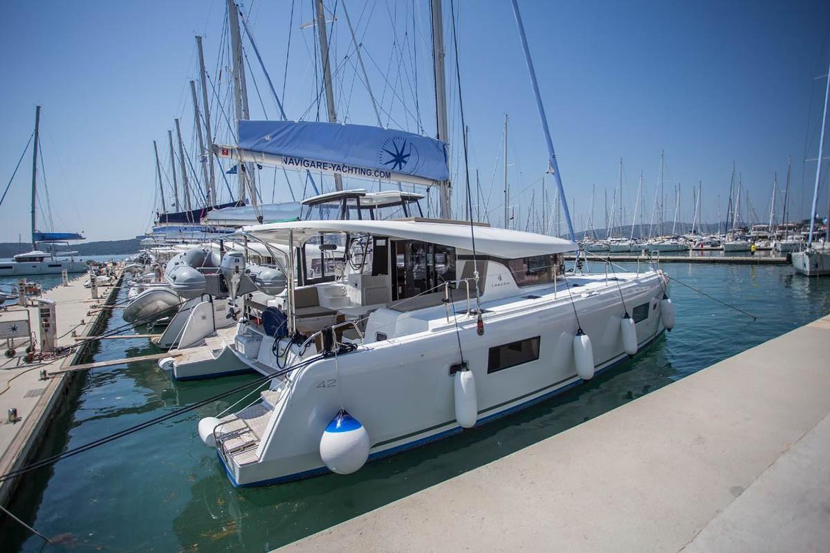 Lagoon 42 Wilma af Sweden  | Catamaran Charter Croatia