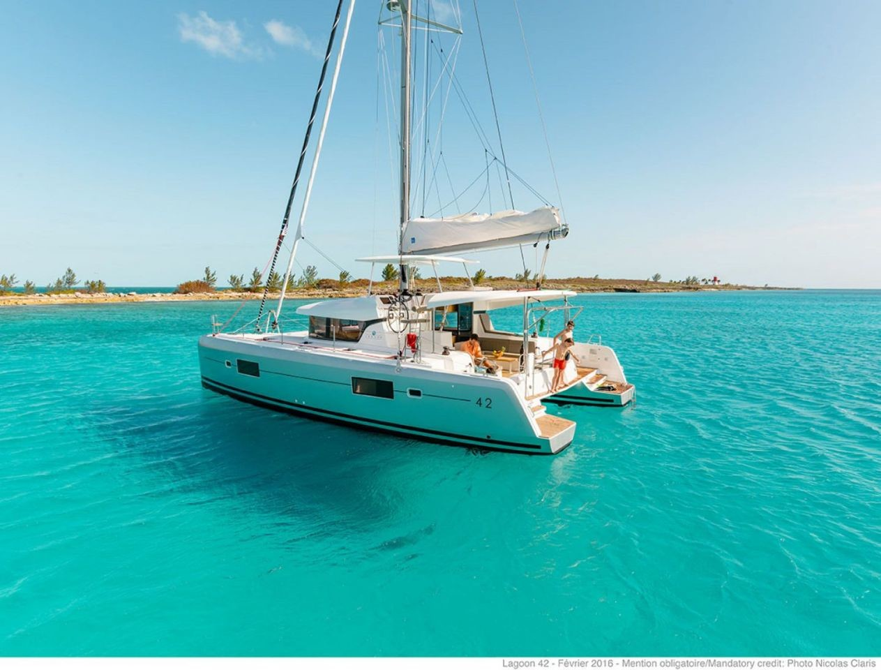 Lagoon 42, Independent | Catamaran Charter Croatia