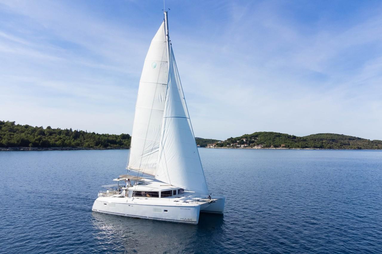 Lagoon 421, Patch Work | Catamaran Charter Croatia