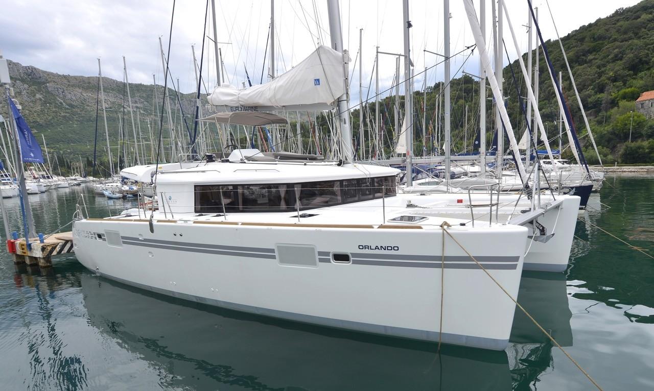 Lagoon 450 F Orlando | Katamaran Charter Kroatien
