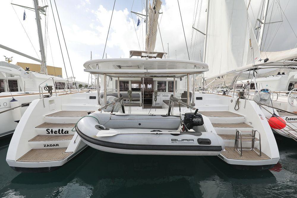 Lagoon 450 F Stella | Catamaran Charter Croatia
