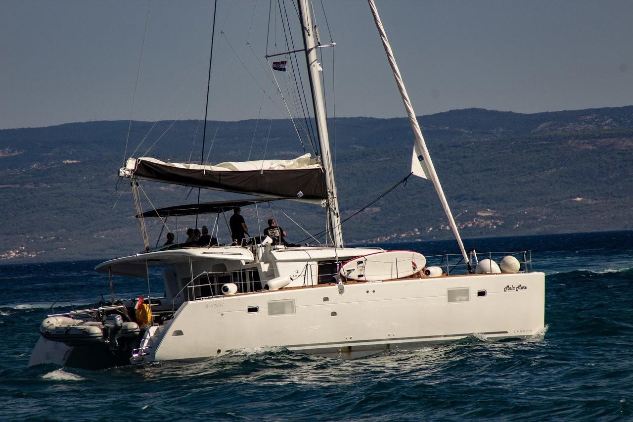 Lagoon 450 F Mala Mare | Katamaran Charter Kroatien