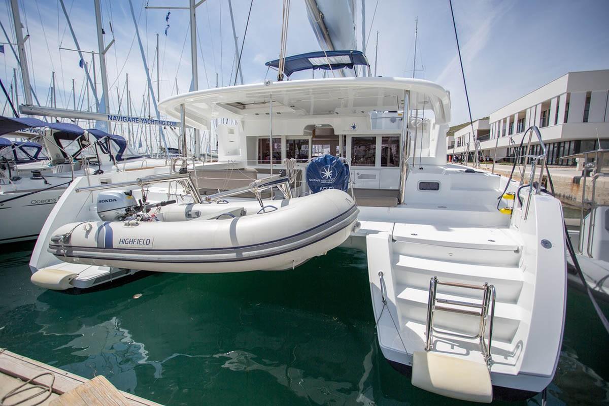 Lagoon 450 F Ariel | Catamaran Charter Croatia
