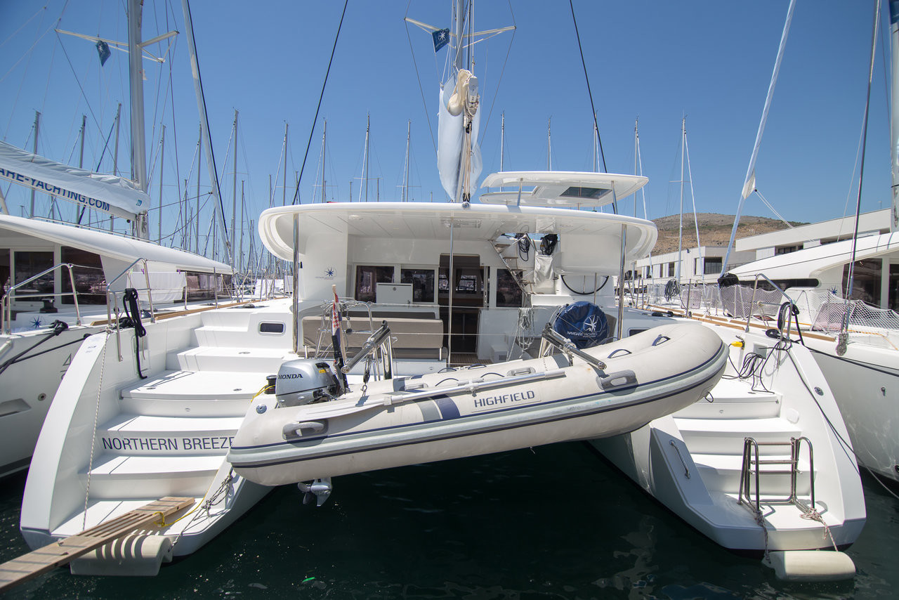 Lagoon 450 S Northern Breeze  | Catamaran Charter Croatia