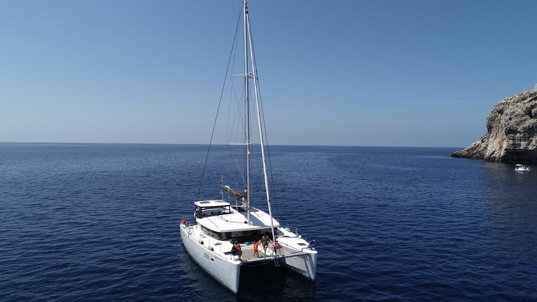 Lagoon 450 S ADRIATIC QUEEN | Catamaran Charter Croatia