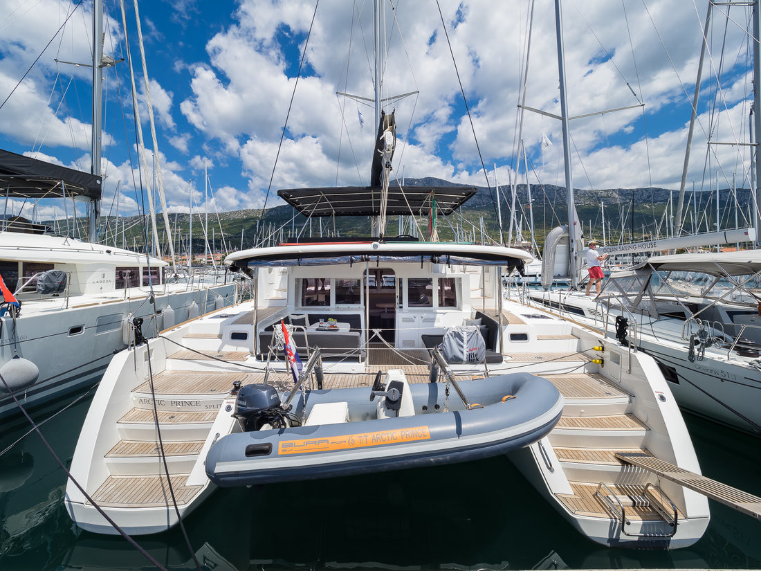 Lagoon 450 ARCTIC PRINCE | Catamaran Charter Croatia