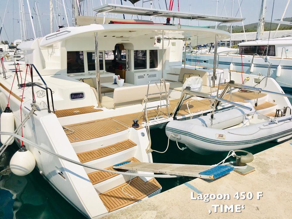 Lagoon 450 TIME | Katamaran Charter Kroatien