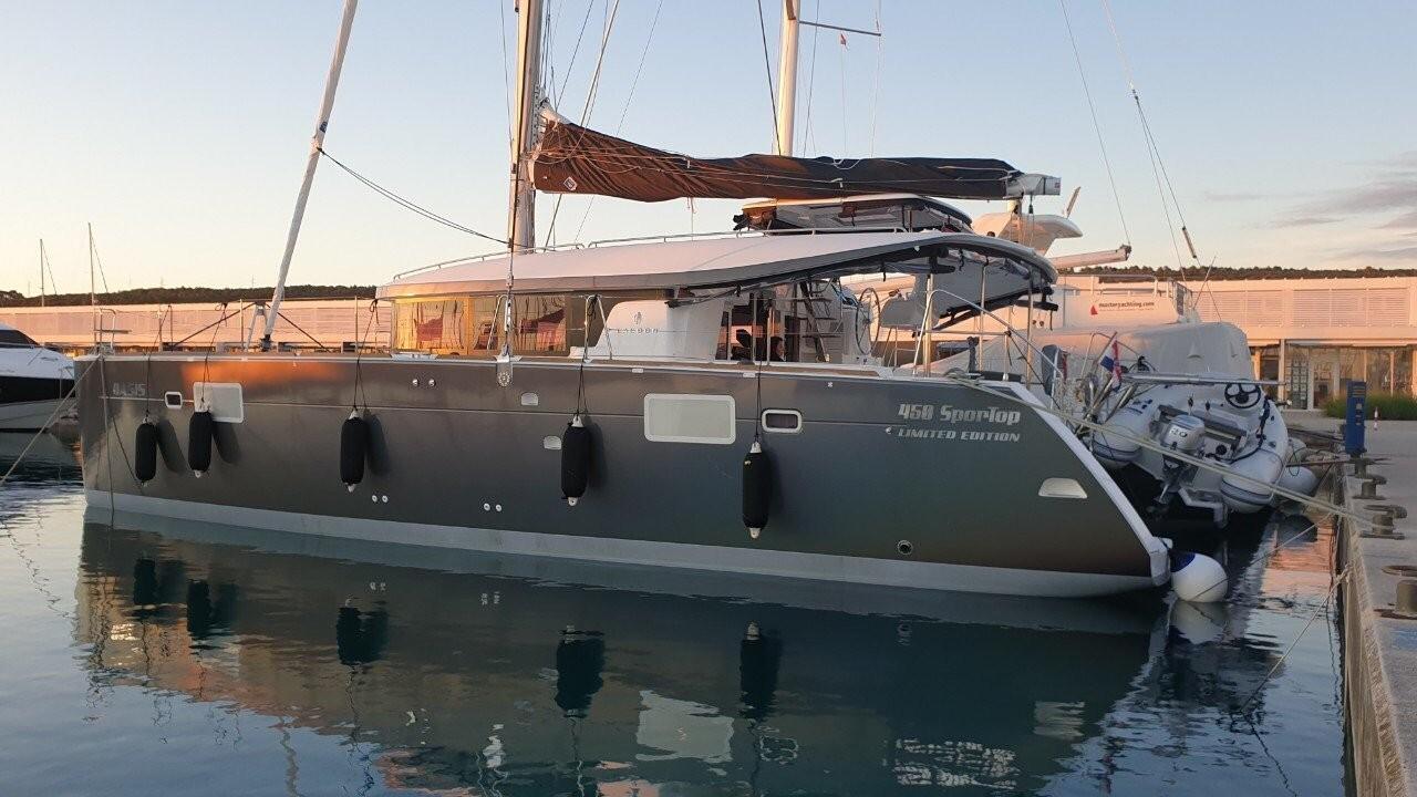 Lagoon 450, OASIS | Catamaran Charter Croatia