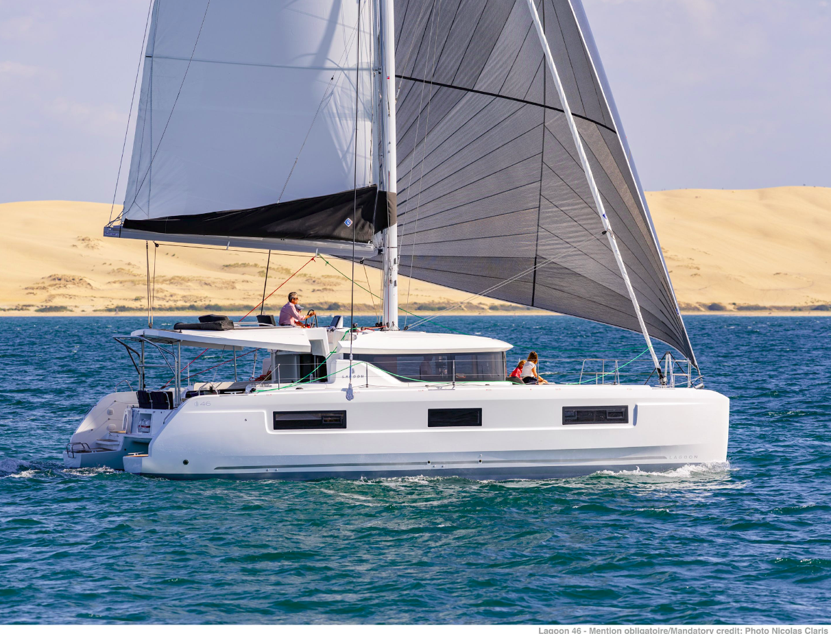 Lagoon 46 LADY POINT | Catamaran Charter Croatia