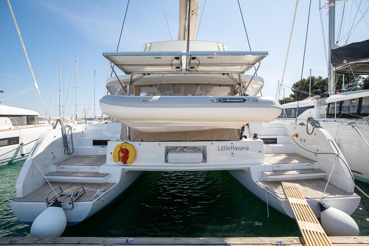 Lagoon 46 Little Havana | Catamaran Charter Croatia