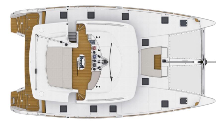 Lagoon 52 F, CARACARA  | Catamaran Charter Croatia