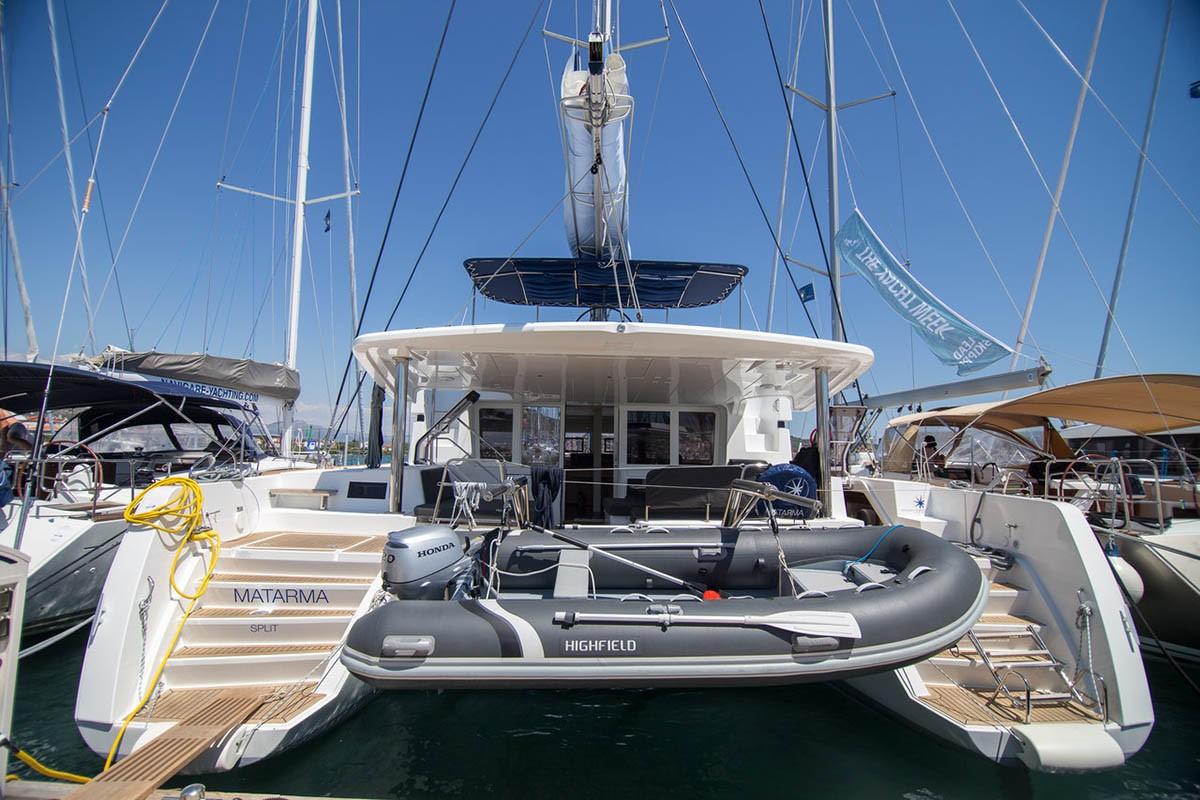 Lagoon 52 F, Matarma | Catamaran Charter Croatia