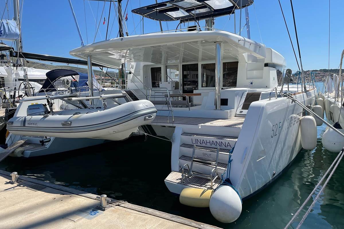 Lagoon 52 F, LinaHanna | Catamaran Charter Croatia
