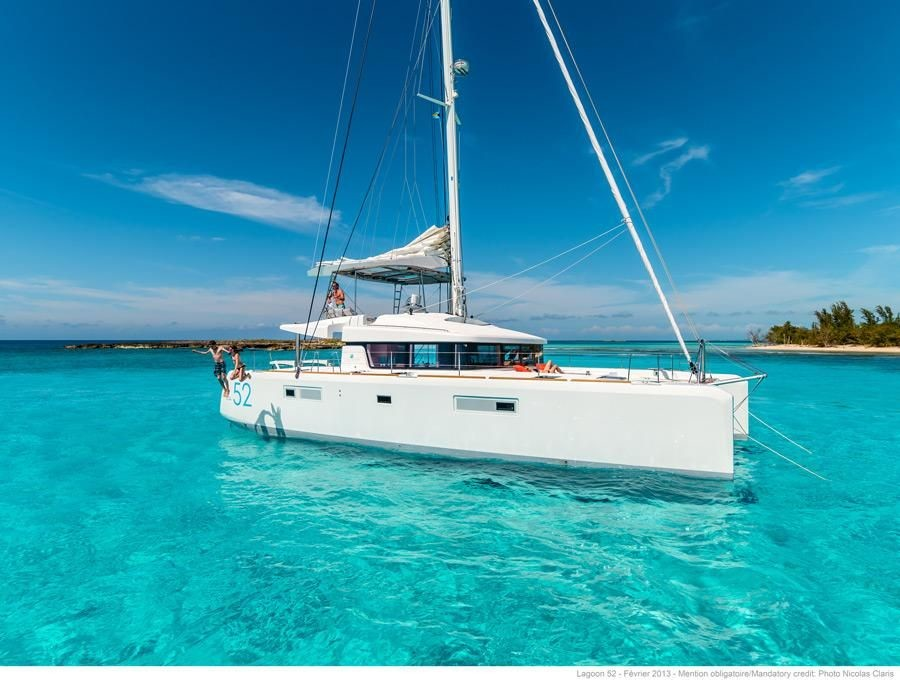 Lagoon 52 F, Largo Winch CREWED | Catamaran Charter Croatia