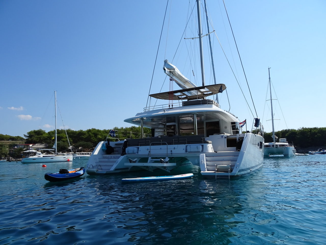Lagoon 560 S2, Eagle of Norway (Crewed) | Katamaran Charter Kroatien