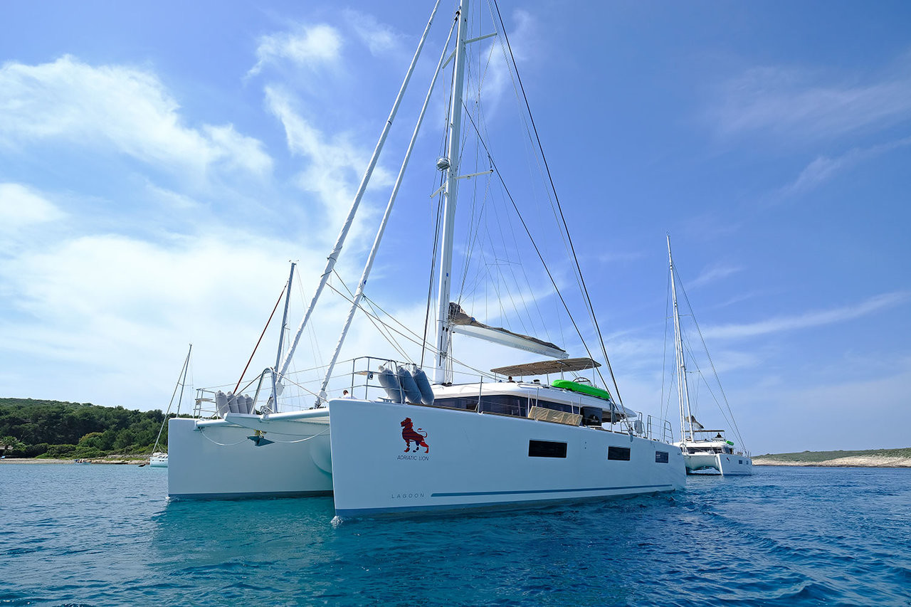 Lagoon 620, ADRIATIC LION | Catamaran Charter Croatia