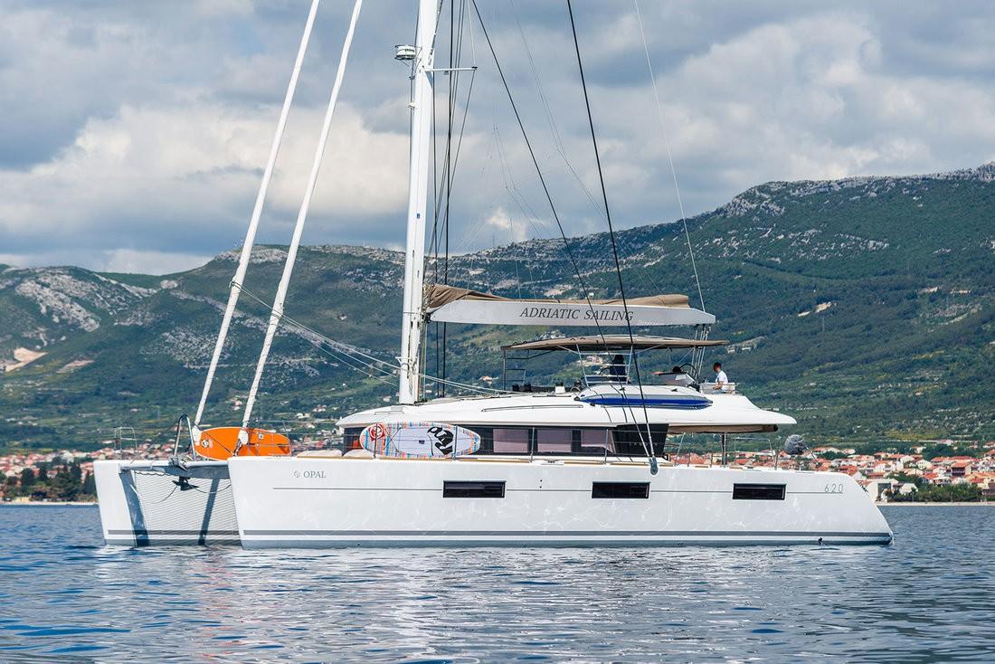 Lagoon 620, OPAL | Katamaran Charter Kroatien