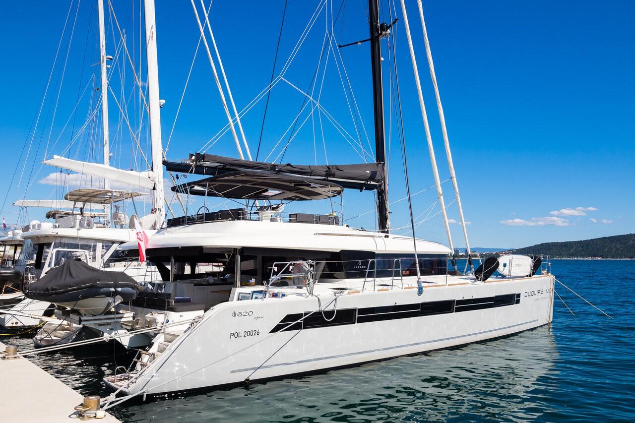 Lagoon 620, DUOLIFE | Catamaran Charter Croatia